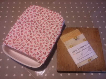 Casserole Dish Wrap £8 Size 35cm x 50cm. Ideal for covering large dishes/plates/bowls etc.